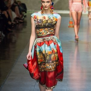 Dolce and Gabbana Soldier Dress